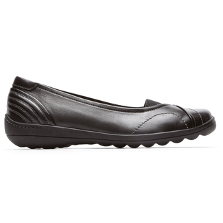 Lizzie Slip On Cobb Hill by Rockport in Black